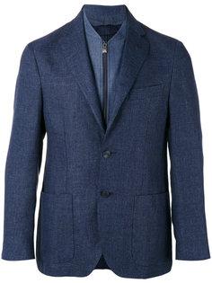 пиджак с застежкой на три пуговицы Corneliani