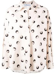 рубашка с рисунком Blumarine