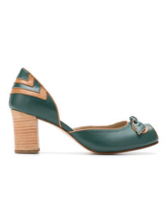 peep toe pumps Serpui