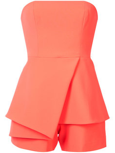 strapless playsuit Jay Godfrey