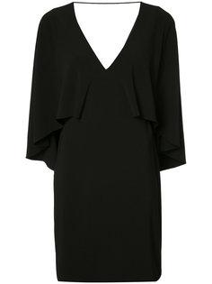 pleated trim dress  Halston Heritage