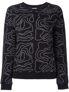 embroidered sweatshirt Zoe Karssen