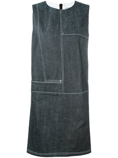 denim shift dress Paco Rabanne