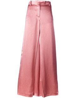широкие расклешенные брюки  Valentino