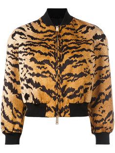 куртка-бомбер  с тигровым принтом Dsquared2