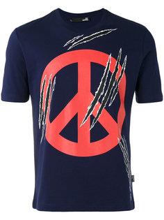 футболка с принтом пацифика Love Moschino