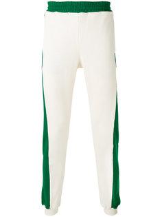 спортивные брюки с принтом-логотипом MSGM
