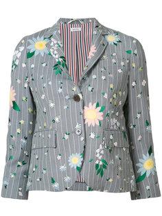пиджак с цветочным принтом Thom Browne