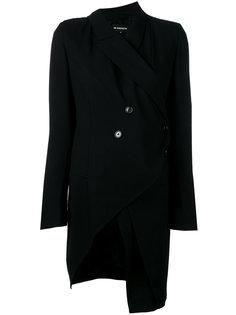 асимметричный пиджак с завязками Ann Demeulemeester