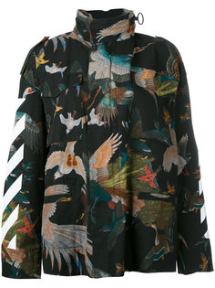 куртка Birds Diagonal Off-White