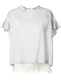 блузка в полоску Sacai