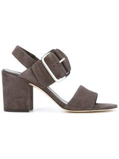 buckled sandals  Stuart Weitzman