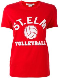 футболка с волейбольным принтом Junya Watanabe Comme Des Garçons