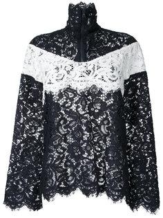 куртка с контрастными вставками Goen.J