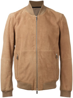 куртка-бомбер  с карманами на молнии Boss Hugo Boss