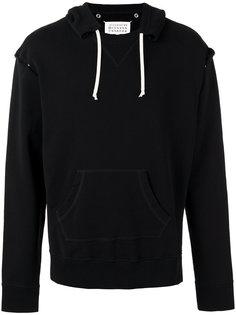 open seam hoodie Maison Margiela