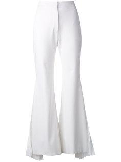 расклешенные классические брюки  Sara Battaglia