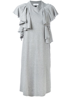 платье с оборками Facetasm