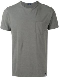 футболка с короткими рукавами и нагрудным карманом Drumohr