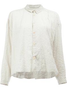 укороченная рубашка с мятым эффектом Toogood