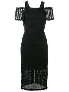 платье с приспущенными плечами Sinclair Roland Mouret