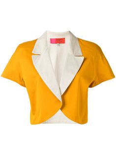 colour block bolero jacket Emanuel Ungaro Vintage