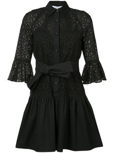 кружевное платье-рубашка Derek Lam 10 Crosby