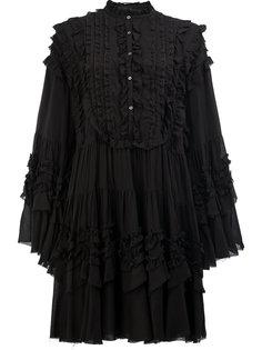многоярусное платье с отделкой рюшами Faith Connexion
