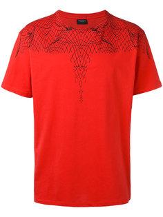 футболка с принтом паутины Marcelo Burlon County Of Milan