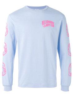 Helmet Print sweatshirt Billionaire Boys Club