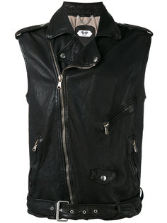 sleeveless biker jacket Pihakapi