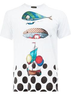 футболка с принтом Comme Des Garçons Homme Plus x Fornasetti traveller Comme Des Garçons Homme Plus