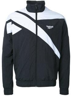 куртка-бомбер  с контрастной окантовкой Reebok
