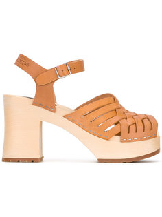 Gullan sandals Swedish Hasbeens