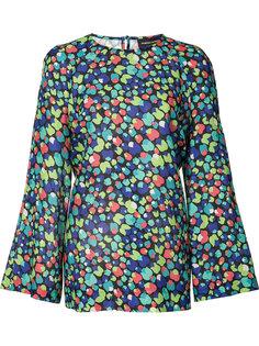 блузка с цветочным принтом Vanessa Seward