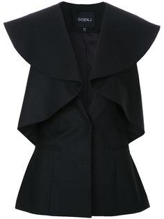 приталенный пиджак с оборками Goen.J