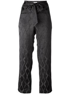 брюки с узлом Masscob
