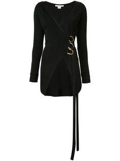 блузка с V-образным вырезом с запахом Antonio Berardi