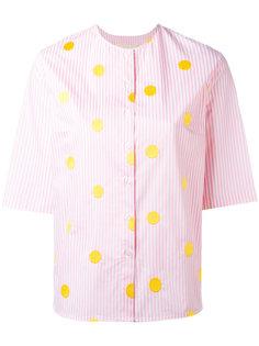 полосатая рубашка в горошек Elaidi