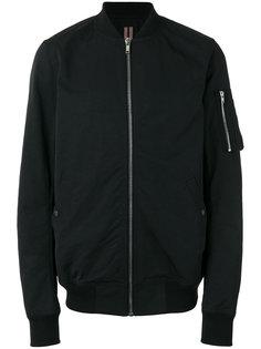 куртка-бомбер с карманом на молнии Rick Owens DRKSHDW