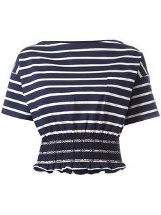 футболка с эластичным поясом Moncler