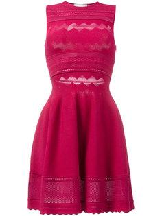 короткое приталенное платье  Zuhair Murad
