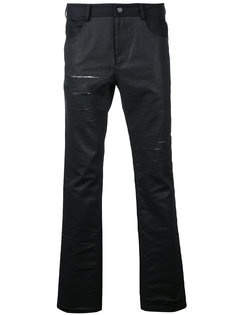 distressed slim-fit jeans General Idea