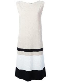 платье в контрастную полоску  D.Exterior