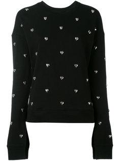 heart stud sweatshirt Zoe Karssen
