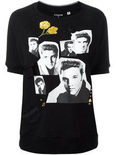 футболка с принтом Elvis Presley Coach