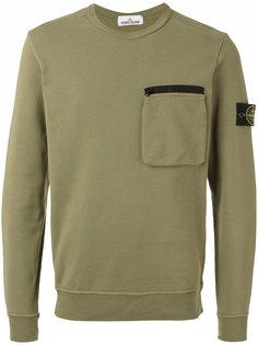 chest pocket sweatshirt Stone Island
