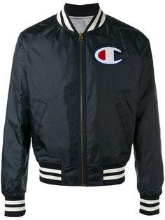 куртка-бомбер с отделкой в полоску  Champion