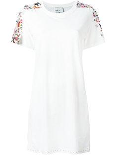 платье-футболка с цветочной отделкой 3.1 Phillip Lim