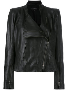 байкерская куртка с отделкой зигзаг Ann Demeulemeester